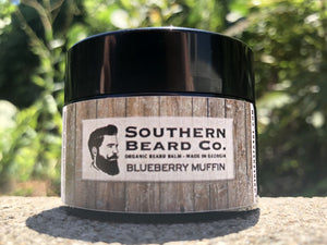 Blueberry Muffin Organic Beard Balm - Southern Beard Co.
