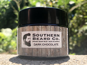 Dark Chocolate Organic Beard Balm - Southern Beard Co.