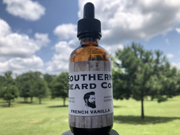 French Vanilla Organic Beard Oil
