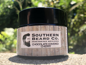 Chocolate Covered Cherry Organic Beard Balm - Southern Beard Co.