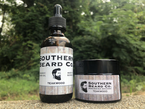 All Organic Oil & Balm Combo Pack - Southern Beard Co.