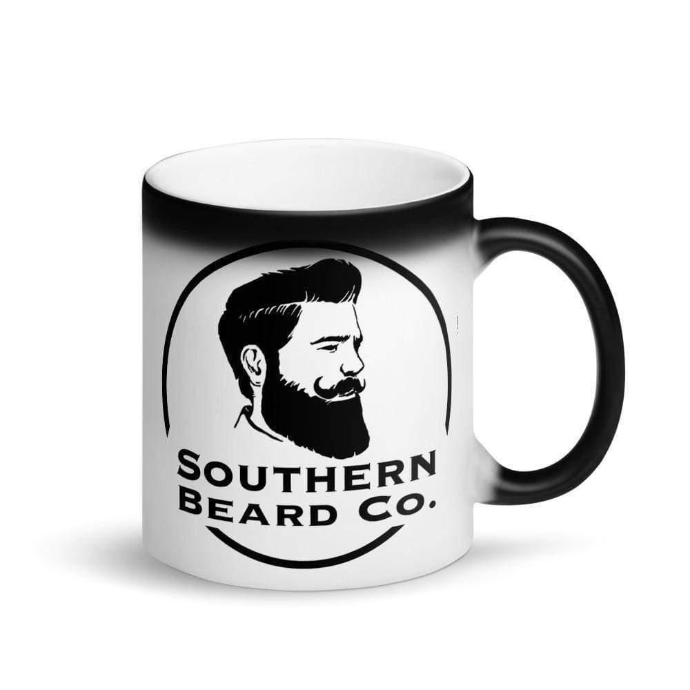 Matte Black Magic Mug - Southern Beard Co.