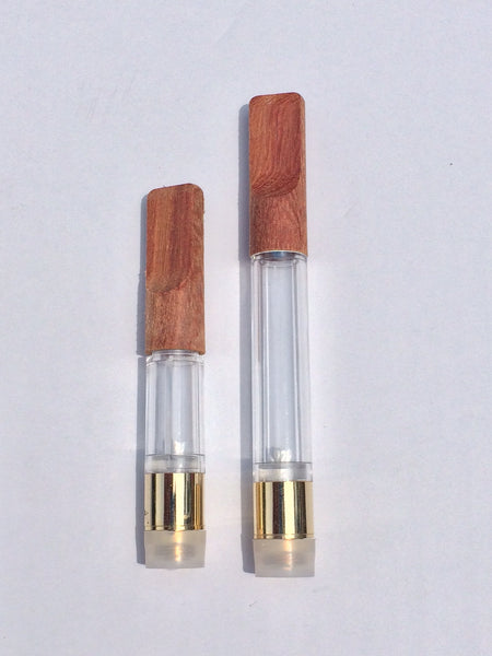 Wood Tip Vape Cartridges (0.5ml / 1.0ml) Real Wood!
