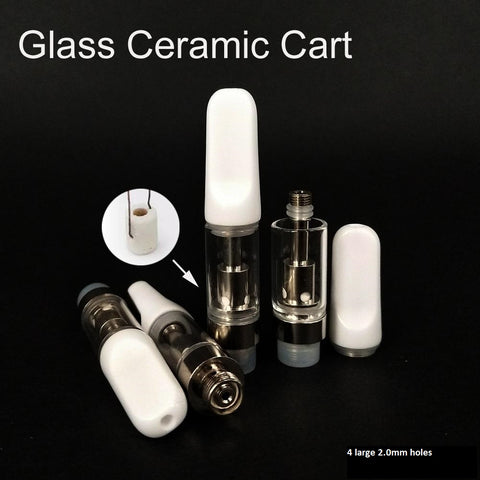 wholesale glass ceramic coil vape cartridges