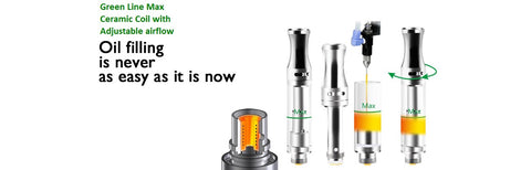 ceramic coil vape cartridges at wholesale prices