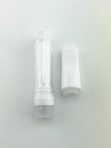 All Ceramic Vape Cartridges (0.5ml & 1.0ml) white gaskets