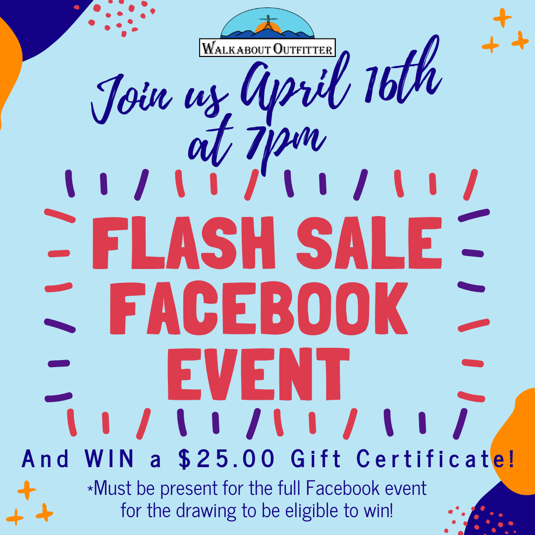 Facebook LIVE Flash Sale Event - April 16 @ 7pm
