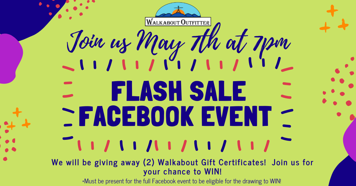 Facebook LIVE Flash Sale Event - May 7th @ 7pm