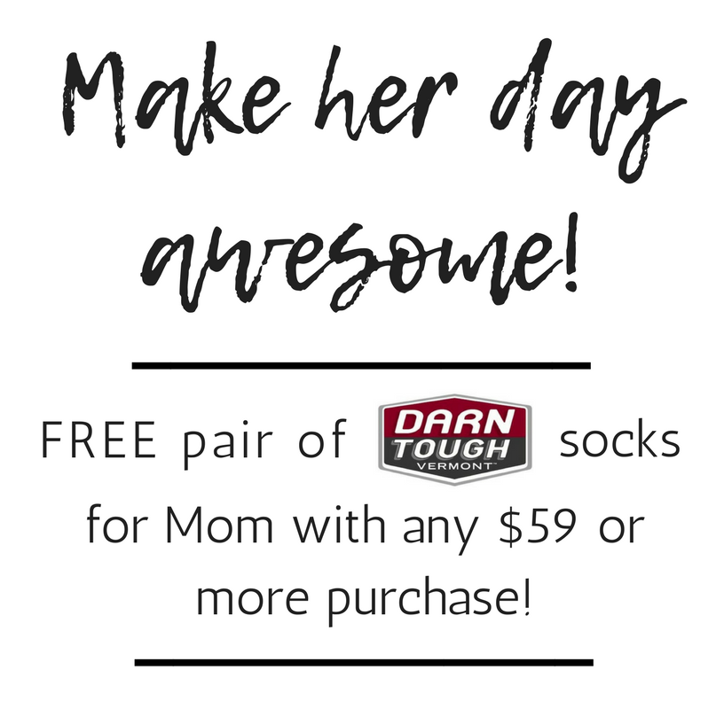 Free socks for the woman who's matched so many of yours!