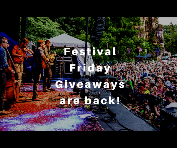 Win free tickets to a music festival!