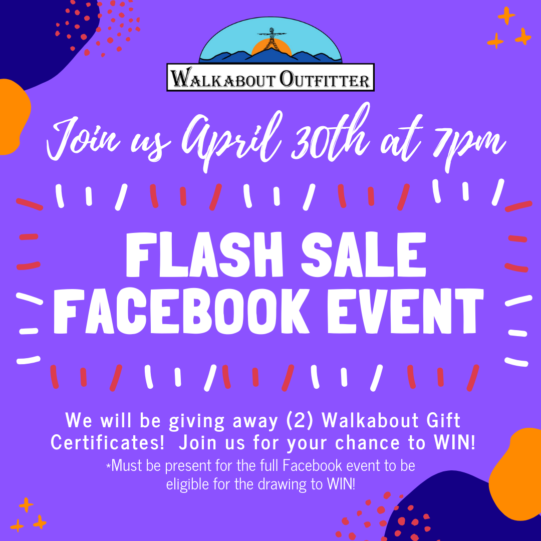 Facebook LIVE Flash Sale Event - April 30th @ 7pm