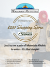 Mountain Khaki Shopping Spree