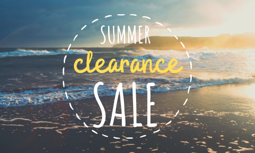 Summer SALE starts TODAY!
