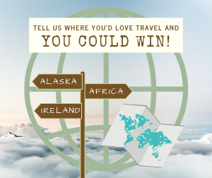 Where in the world do you want to go?!