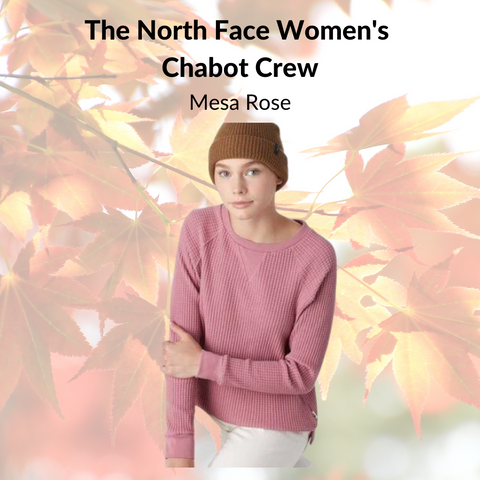 The North Face Women's  Chabot Crew (Mesa Rose)