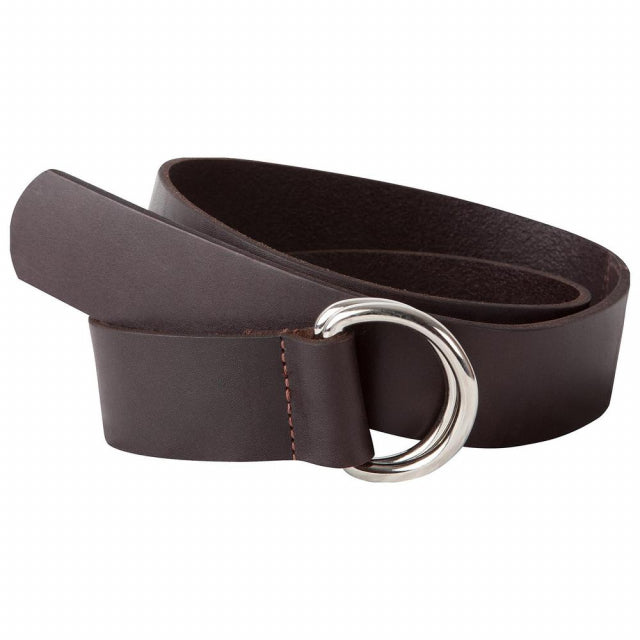 Leather D-Ring Belt