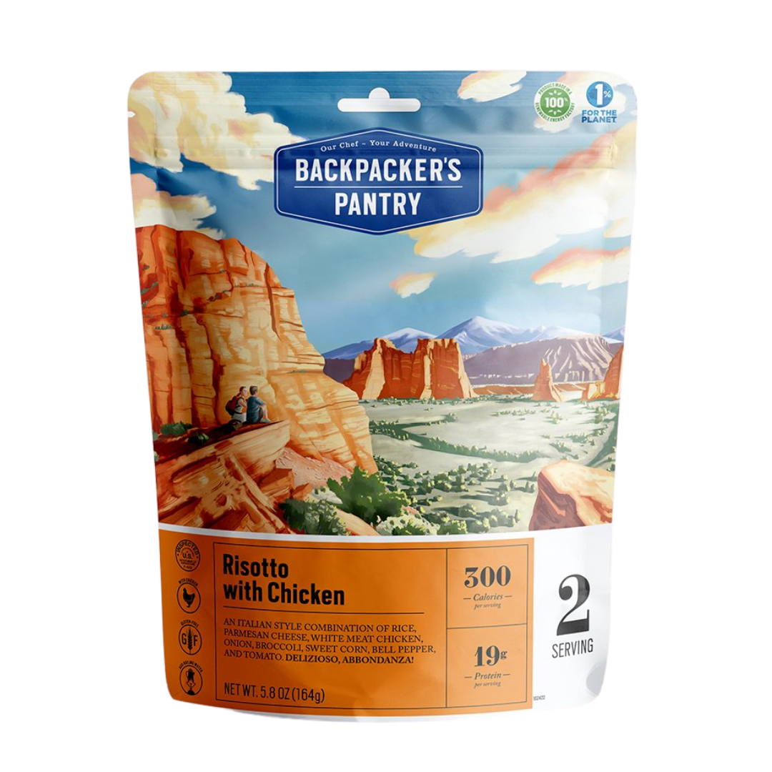 Backpacker's Pantry - Risotto with Chicken