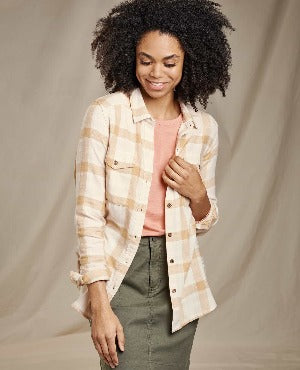 Toad & Co Re-Form Flannel Shirt - Women