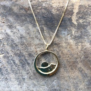 Sylvan Spirit - 14k Gold Necklace