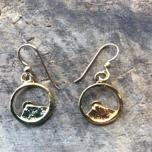 Sylvan Spirit - 14k Gold Drop Earrings