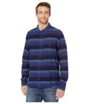 Toad & Co Indigo Flannel Shirt - Men