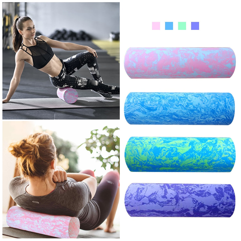 Details about  /Fitness Mad Peanut Massage Ball Training Roller Yoga Massage Roller Fitness Roll