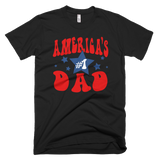 America's #1 Dad t-shirt | Father's Day tee - BLACK