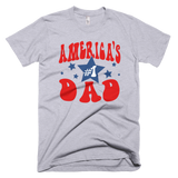 America's #1 Dad t-shirt | Father's Day tee - GREY