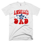 America's #1 Dad t-shirt | Father's Day tee - WHITE