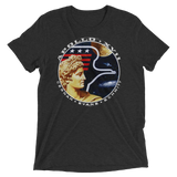 NASA t-shirt | Apollo 17 graphic tee - BLACK