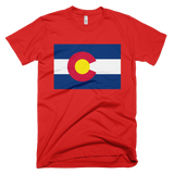 Colorado flag t-shirt | Golden Disk tee