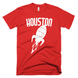 Houston t-shirt | Vintage Style Rocket tee - RED