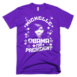 Michelle Obama for President t-shirt - PURPLE