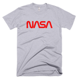 NASA worm logo t-shirt - GREY