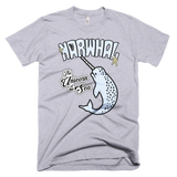 Narwhal t-shirt | The Unicorn of the Sea tee - GREY