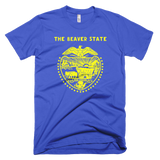 Oregon t-shirt | The Beaver State tee - BLUE