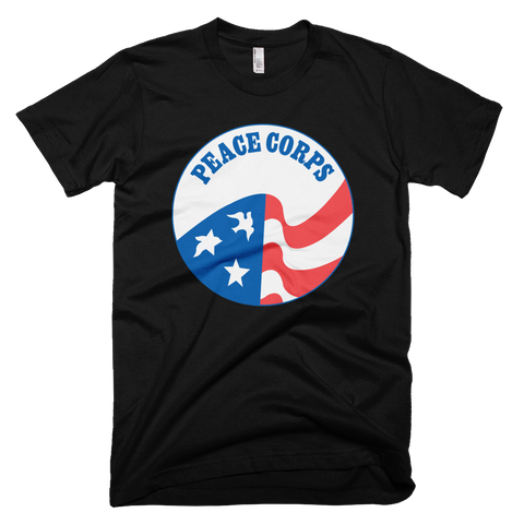 Peace Corps logo t-shirt - BLACK