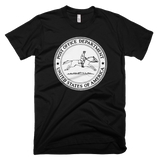 United States Post Office Department logo t-shirt - BLACK