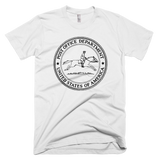 United States Post Office Department logo t-shirt - WHITE