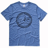 United States Post Office Department logo t-shirt - BLUE
