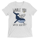 Save the Whales | Keep the Water Healthy tee shirt