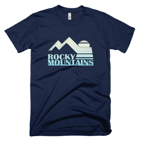 Rocky Mountains t-shirt - NAVY