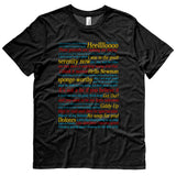 Seinfeld Quotes and References t-shirt - BLACK