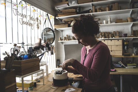 Joanne Tinley Jewellery at the Sorting Office Studios, Hampshire