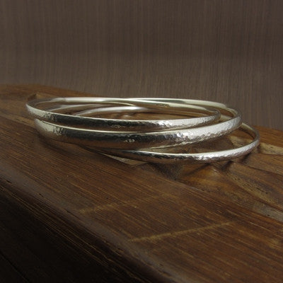 learn how to make bangles at the Jewellery Summer School with Joanne Tinley Jewellery