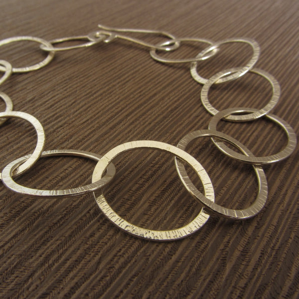 learn how to make chains at the Jewellery Summer School with Joanne Tinley Jewellery