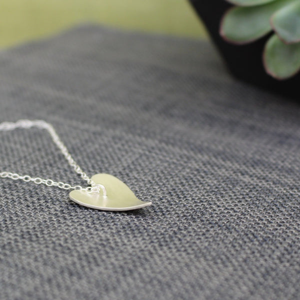24k & silver heart pendant from Joanne Tinley Jewellery