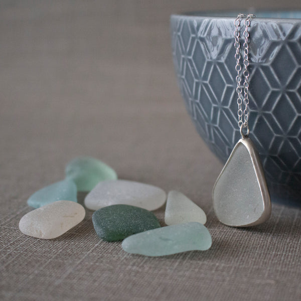 sea glass and sterling silver pendant workshop | Joanne Tinley Jewellery | Jewellery Classes Hampshire