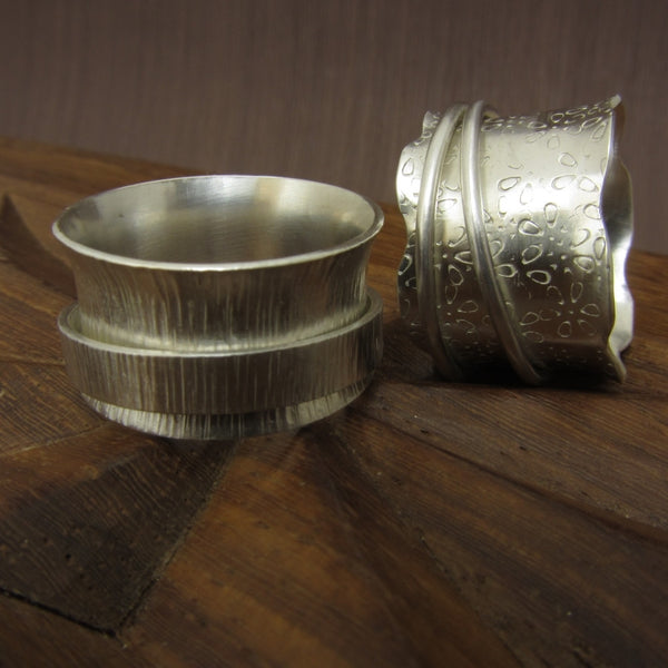 spinner ring workshop - jewellery making workshop in Hampshire - Joanne Tinley Jewellery