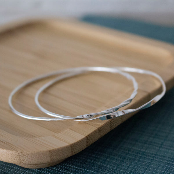 Twisted Ribbon Bangles Workshop - Thursday 4th February